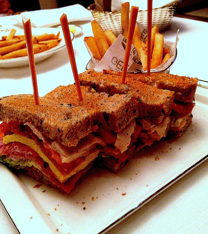 The BEST Club sandwich...