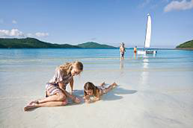 What to do on Hamilton Island in The Whitsundays, with kids