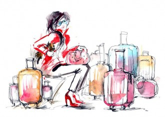 What to wear for Airline Travel via Uniqlo