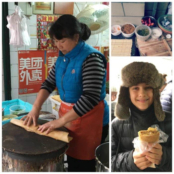 Food Tour Shanghai with families