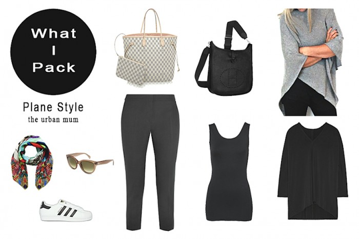 What I Pack - Plane Style - The Urban Mum