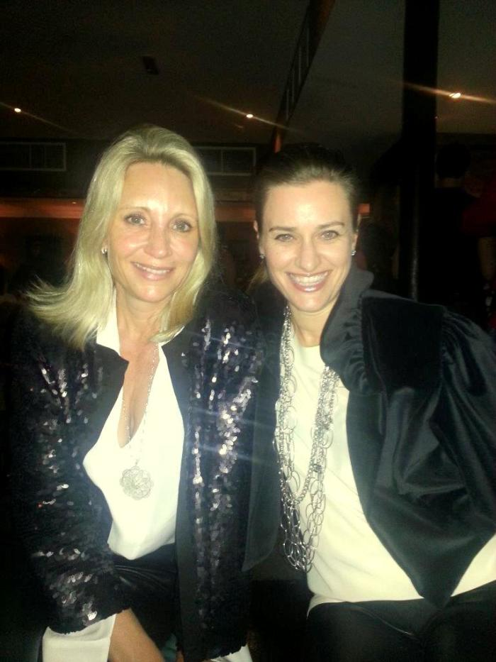 Sisters out on the town in Paris...