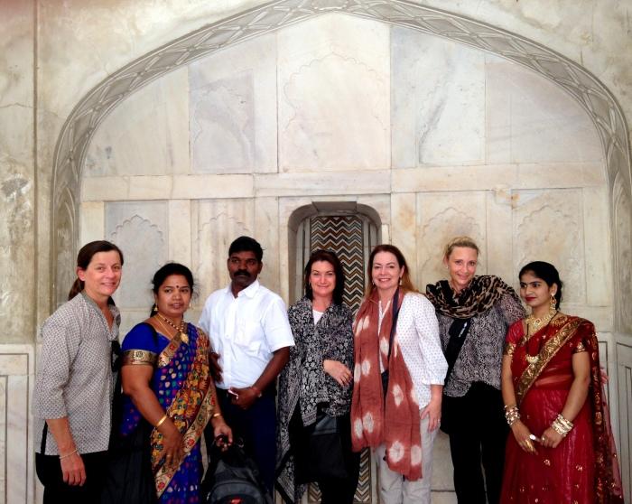 Friends in India