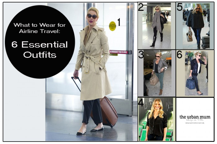 What to Wear for Airline Travel_ 6 Essential Outfits. Luxury Escapes with The Urban Mum