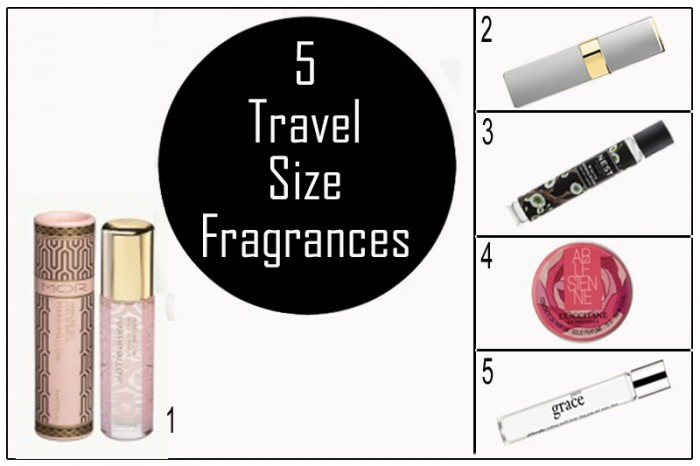 Luxury Escape for The Urban Mum - 5 Travel Size Fragrances