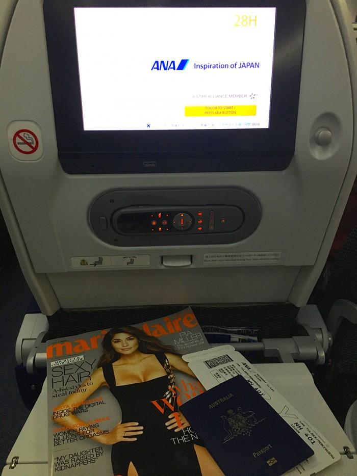 ANA Flight Review - Sydney to Tokyo