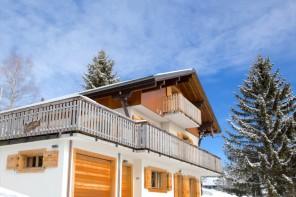 Family Ski Holidays France: Les Gets Chalet 345