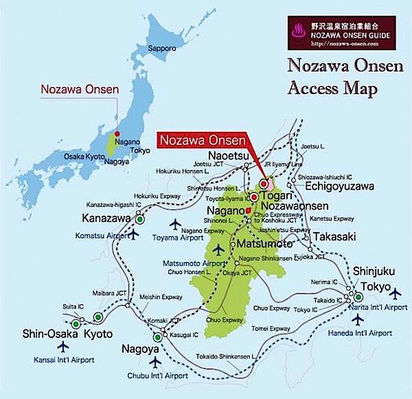 Skiing in Japan with Kids - Nozawa Onsen
