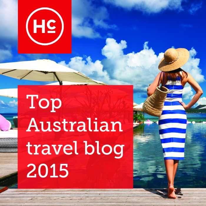 Chosen as One of Australia´s Top Travel Blogs of 2015
